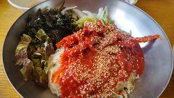 남양주시 팔당 맛집이라는 동동국수집에서 저녁식사