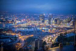 노르웨이 오슬로 Oslo 1일 여행 경비 계산, 날씨[유럽배낭여행 비용]