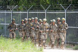 신병 1245기 2교육대 극기주 - 각개전투훈련