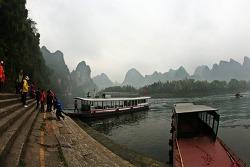 '13년 중국 계림여행 --관암동굴, 이강 유람