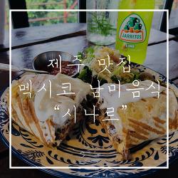 [제주 조천읍 맛집] 멕시코 남미음식 맛집 시나르