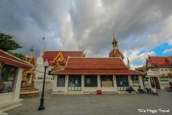 태국으로의 이동, 숙소주변 산책