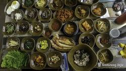 제주시 맛집, 30가지 반찬에 만원 보리밥집