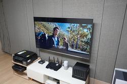 B tv UI 최신 업데이트 홈 메뉴 UI 변경 HDR10+ 돌비애트모스까지
