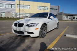 BMW E92 M3: 겨울에 타지않는 이유