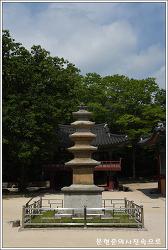 경북 포항 보경사오층석탑  시도유형문화재 제203호