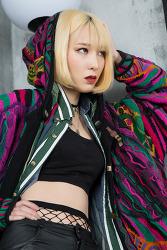 모델 김민정