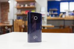 글로미니(glo mini) 등장. 가볍다. 한 번 충전으로 15회나 사용한다