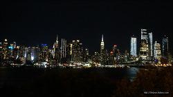 <뉴욕>(21) 뉴저지주 해밀턴 공원에서 맨해튼 야경