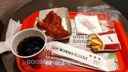 KFC - 갓양념치킨세트 + 롱치즈스틱