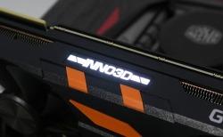 주황색 컬러가 돋보이는 2팬 디자인!! INNO3D 지포스 RTX 2080 OC D6 8GB X2