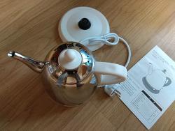 드레텍 스테인레스 전기주전자 커피포트  PO-115 마키아토