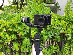 페이유 G6 플러스 미러리스 카메라 짐벌 스마트폰까지 RX100 짐벌