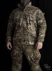 [Uniform] ECWCS GEN4 Level4 Wind Jacket Multicam Fire Resistant.