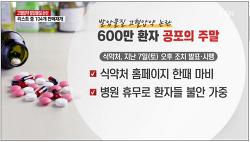 [고혈압약 발암물질 리스트]식약처 고혈압약 발암물질 리스트 공개