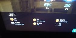 11월 28일 오늘의 오버워치 옵치 모이라 강월드 성적