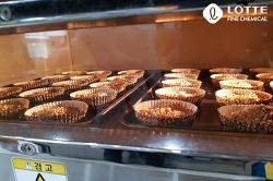 나누리봉사팀, 제빵봉사활동 현장