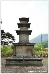 경북 경주 효현동 삼층석탑 보물 제67호