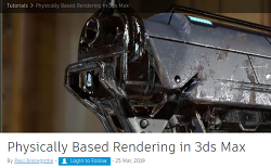 Physically Based Rendering in 3ds Max