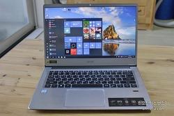 에이서 스위프트3 SF314-56G MX250 노트북 리뷰