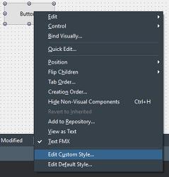 [FMX][팁] 파이어몽키 버튼의 배경색상 변경하기