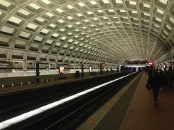 워싱턴 디씨(Washington D.C.)에서 경험한 지하철