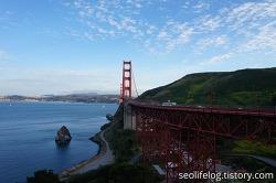 [미국 '총각파티' 여행] Part 8/Final - 샌프란시스코 금문교 자전거로 건너기