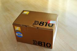 [화질의정점]Nikon D810 개봉기