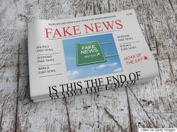 가짜뉴스로 오염된 세상