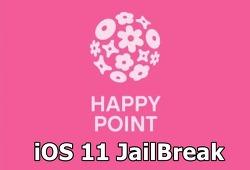 HappyBypass - 탈옥 아이폰에서 해피포인트 앱을 사용할 수 있게 해주는 트윅 [iOS11.4b3]