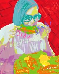 [사진편집] Charlize Theron (샤를리즈 테론) - Barbecue