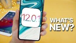 iOS 12.0.1 정식 버전 업데이트 방법 및 내용 정리