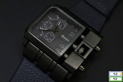 독특한, 큰 남자 손목시계 Oulm 시계, 알리익스프레스 추천