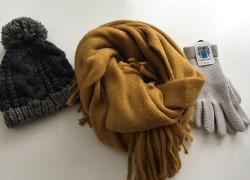 [월동준비] 스카프, 모자, 장갑
