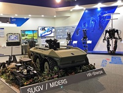 현대로템, 국내 최대 로봇박람회 2018 로보월드 참가