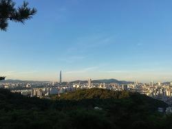 2018년 9월 아차산