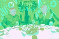 [사진편집] 김정은(Kim Jung Un) & 트럼프(Trump) - Hanoi Meeting