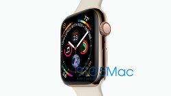애플 워치 시리즈 4, 공식 이미지 유출