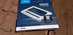 마이크론 SSD : Crucial MX500 대원CTS 심플한 개봉기!