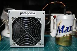 [DIY] 4000rpm 서버팬(쿨러)과 카본필터로  간단하게 만들어본 납흡연기