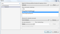 unity3D Help Shortcut setting + visual studio