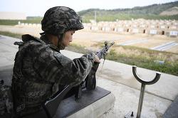부사관후보생 374기 전투사격 훈련
