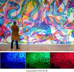 빛의 삼원색 조명에 따라 달라지는 그림 그리기 활동