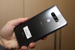 LG V40 카메라 트리플 샷 AI카메라 음식 Ai스티커 편리한 기능