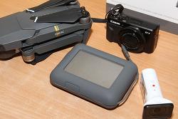외장 HDD LACIE DJI COPILOT BOSS 노트북 없어도 미디어 백업 한다