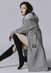 현아 Hyuna 노출 없이도 빛나는 코트입은 패왕 고화질