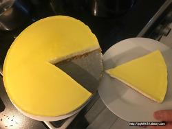 노르웨이 일상 : 노오븐 홈메이드 치즈케이크 만들기