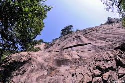 밀양 백운산 중앙벽