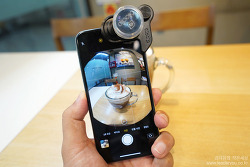 올로클립 아이폰X 광각 카메라 사용해보니 어때요? Olloclip 어안 카메라, 접사 카메라까지!