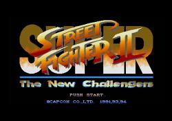 [X68000] 슈퍼 스트리트 파이터 II - 더 뉴 챌린저스 (일본판)